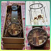 腕時計のインテリア実例