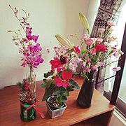 お花のインテリア実例