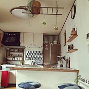 カフェ風のインテリア実例
