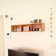 無印良品 壁に付けられる家具のインテリア実例