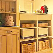 食器棚のインテリア実例