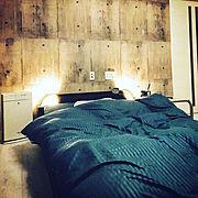 寝室のインテリア実例