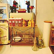 キッチン周りのインテリア実例