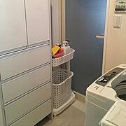 洗濯かごのインテリア実例