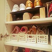 子供の靴のインテリア実例