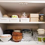 キッチン収納見直しのインテリア実例