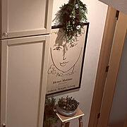 飾り棚のインテリア実例