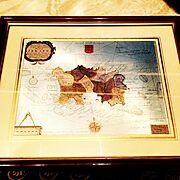 地図 ヨーロッパのインテリア実例
