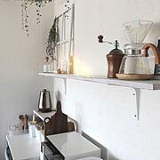 キッチン収納のインテリア実例