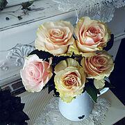 花のある暮らしのインテリア実例