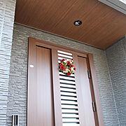 玄関ドアのインテリア実例