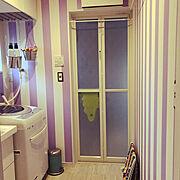 洗面所のインテリア実例