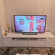 テレビ台のインテリア実例