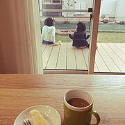 お茶の時間のインテリア実例