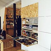 収納棚のインテリア実例