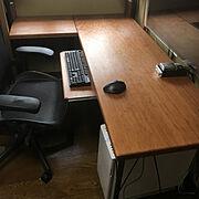 作業机のインテリア実例