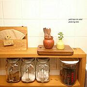 木のフォークのインテリア実例写真