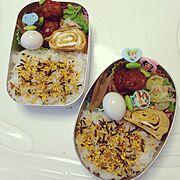 幼稚園のお弁当のインテリア実例写真