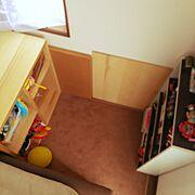 子供スペース☆/秘密基地/Lounge…などのインテリア実例