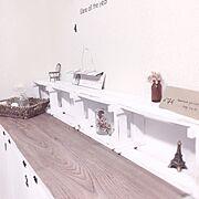My Shelf/ダイソー/マンション/娘部屋/子供部屋に関連する他の写真