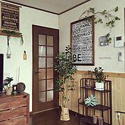 アクセントウォール/クッションフロア/洗面所/部屋干しスペース/物干し…などに関連する他の写真