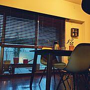 ブラインド 木製/雑貨/KEYUCA/DSW/Lounge…などのインテリア実例