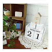ブログよかったら見てみて下さい♩/IG⇨maca_home/モチーフ編み/万年カレンダー…などに関連する他の写真