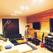 カフェ風/照明/多肉植物/IKEA/無印良品/観葉植物…などのインテリア実例