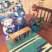 観葉植物/サーファーズインテリア/ビーチハウス/SURF STYLE/ハワイが好き…などのインテリア実例