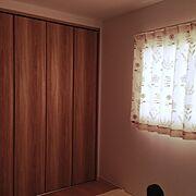 ニトリの既製カーテンのインテリア実例写真