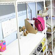 自然素材の家/無垢の床/学習机/勾配天井/子供部屋/My Desk…などに関連する他の写真