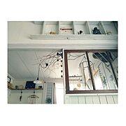 Insta→maiko.0606 /古モノ建具/中古住宅/レトロ/DIY/しっくい壁DIY…などのインテリア実例