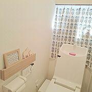 ダイソー/ヴィヒキルース/マリメッコ/北欧インテリア/Bathroom…などのインテリア実例