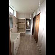 脱衣室のインテリア実例写真