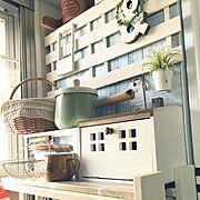 100均/棚DIY/いいね♪いつもありがとうございます❤️/IKEA/salut!…などのインテリア実例