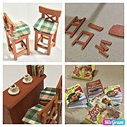 テーブル/ガーデン/街並み/カフェ風/ジオラマ/ミニチュア…などのインテリア実例