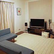 モモナチュラル/IKEA/ニトリ/unico カーテン/エコカラット/Lounge…などのインテリア実例