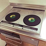レコードのインテリア実例写真