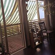 カメラマーク消し☆/すだれ/暑さを乗り切る方法(ΦωΦ)/Lounge…などのインテリア実例