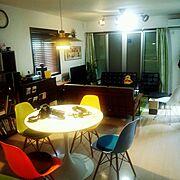 男前/子供部屋/ベッドの下はマンガ収納/IKEAの2段ベッド/床はカッティングシート…などに関連する他の写真