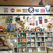 うちのメイン部屋/アドベンチャータイム/トイストーリー/賃貸/アメリカン/おもちゃ…などのインテリア実例
