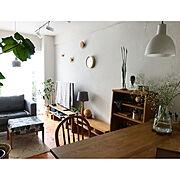 artek/グリーンのある暮らし/マンションインテリア/木工/DIY/中古マンション…などのインテリア実例