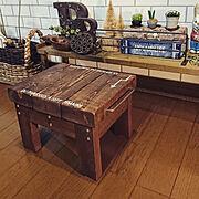 masuさんのダミーブック/100均/蓮の実ドライフェイク(粘土)/ステンシル…などのインテリア実例