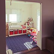 IKEA/トロファスト/子供部屋/Overview/無印良品/おもちゃ収納…などのインテリア実例