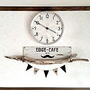 ルート66/時計/文房具収納棚/飾り棚DIY/アート/ウッドバーニングポット…などに関連する他の写真