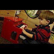 Lounge/子供用/幼児/KORG/イシバシ楽器/ピアノ …などのインテリア実例