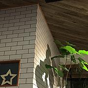 タイル壁紙貼り替えのインテリア実例写真
