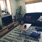 Lounge/西海岸もハワイも好き♡/ニトリ/西海岸/クラスティーナ/ハワイで購入…などに関連する他の写真
