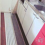 白化/カッティングシート/DIY/Kitchen…などのインテリア実例