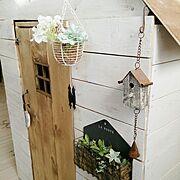 spf/セリア/ドア/DIY/手ノコで頑張りました/こどもと暮らす…などのインテリア実例